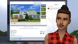 Going through The Sims 4 Gallery making people subscribe to me lol