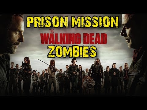 The Walking Dead Season 8 Hype: Prison Mission Zombies! (World at War Custom Zombies)