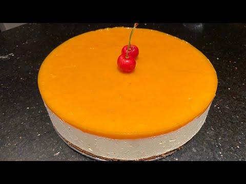 mango-cheese-cake-|-no-bake-mango-cheese-cake-|-egg-free-mango-cake-|-مینگو-چیز-کیک-بنانے-کا-طریقہ