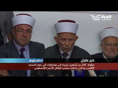 دخول آلاف الفلسطينيين إلى المسجد الأقصى لأداء صلاة العصر