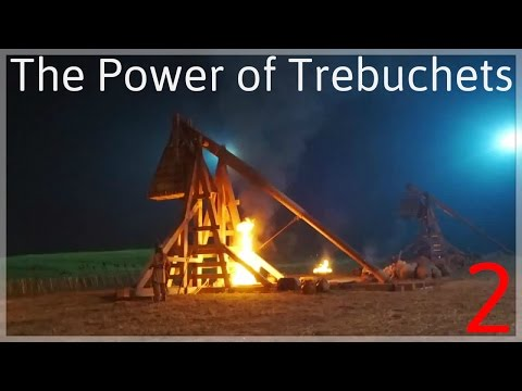 1] The Power of Trebuchets | Stronghold Cusader 2 Gameplay MattG637 |