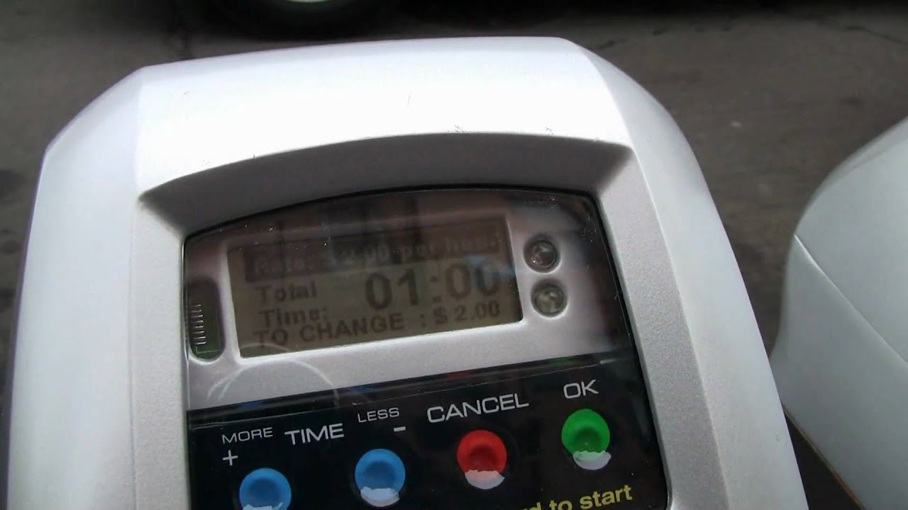New Parking Meter Pilot