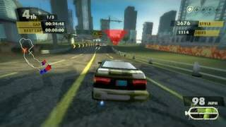 Need for Speed Nitro Nintendo Wii Video - Class C Gameplay