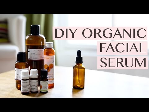 DIY Organic Facial Serum for Dry and Acne Prone Skin