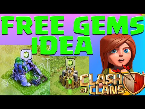 Clash Of Clans Free GEMS Mine? Free Gems Pump? NEW Update Idea! Farming Gameplay  No Hack or Cheat