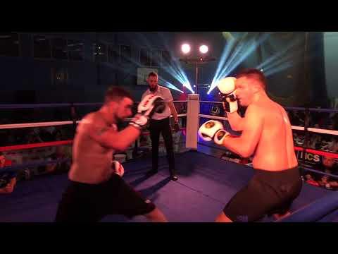 West Berks White Collar Boxing Christopher Field Vs Andrew Osbourne