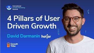 4 Pillars of User Driven Growth | David Darmanin - Hotjar