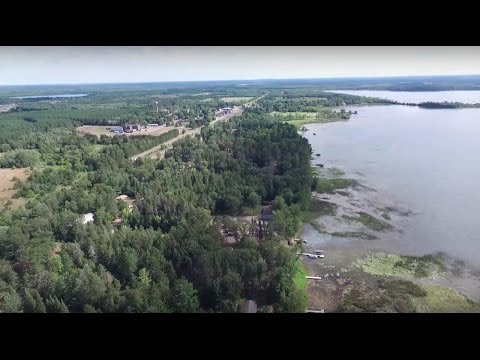 Phantom 3 - Pine Mountain Lake & Foothills, Backus, Mn, July 31st 2015