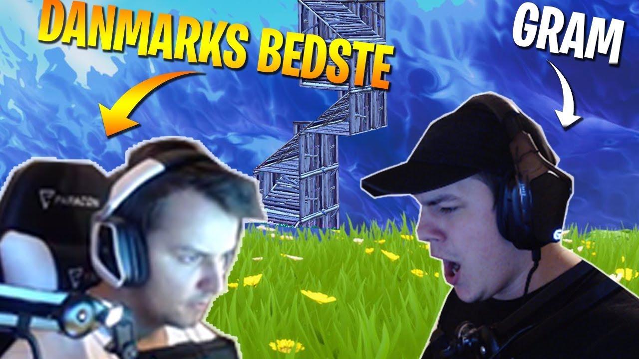 PRO GAME MED DANMARKS *BEDSTE* FORTNITE SPILLER! (VIRKELIG INTENST!)