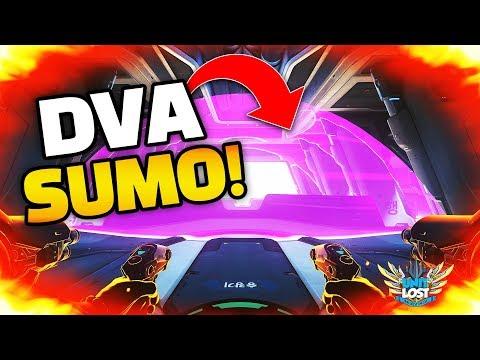 DVA SUMO WRESTLING! - Overwatch Workshop - The BEST GAMES!!