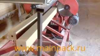 Гидравлический пресс бобышки (шашки) поддона Optima WBP(Инновационный гидравлический пресс для утилизации древесных отходов и получения востребованного продукт..., 2014-10-24T07:50:29.000Z)