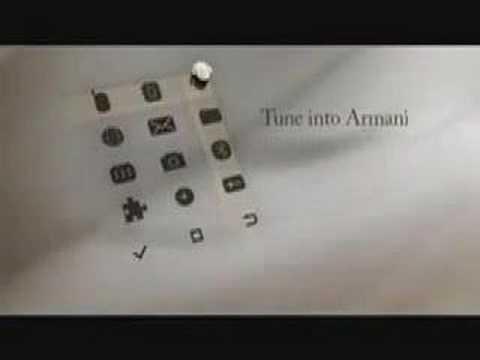 Giorgio Armani and Samsung GSM
