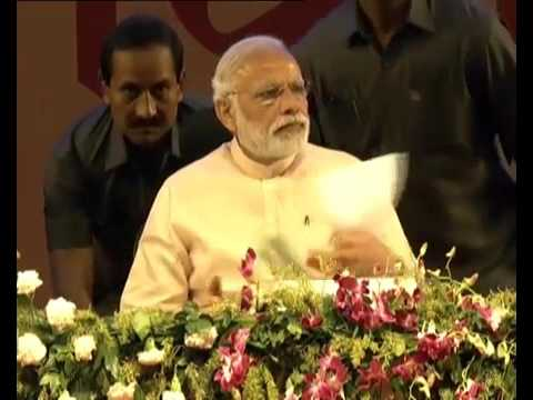 Prime Minister Narendra Modi's speech on Women's day at Gandhinagar, Gujarat
