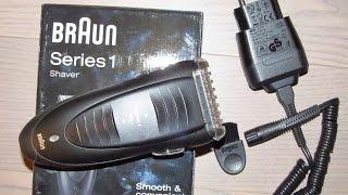 Электробритва Braun Series 1 190 - ОБЗОР