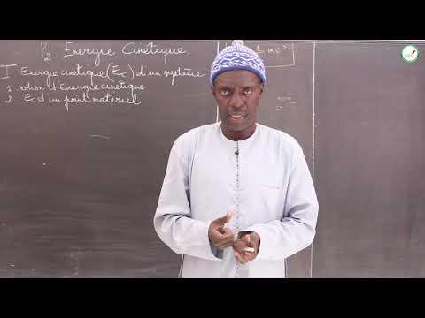 Cours - Première S - Physique / Chimie : Energie Cinétique / Notion d'énergie cinétique / M.Diop