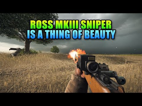 Ross MkIII Sniper Is Beautiful ross