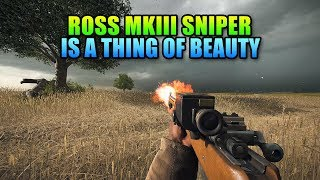 Ross MkIII Sniper Is Beautiful | Battlefield 1 Squad Up