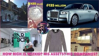 How Rich is Wizkid in 2019  All His Company Jewelries Mansions Income Sources  Cars amp Luxuries