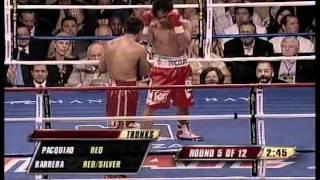 Manny Pacquiao vs. Marco Antonio Barrera II - Will to win Part (2/4)