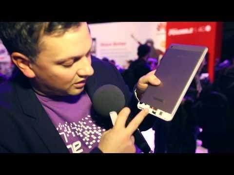 Huawei MediaPad M1 8.0 im Hands-on: Hallo, HTC One