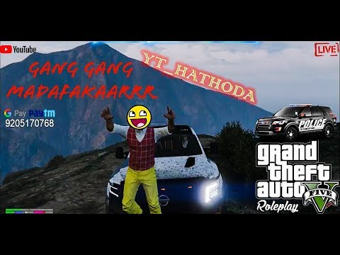 [HINDI] GTA ROLEPLAY INDIA SERVER | NASSEE KARA DENGE  |#181 {!paytm} |