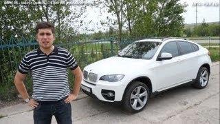 видео Отзыв о BMW X6 2008 г.в. с пробегом 2008 км. BMW X6. Отзывы владельцев