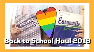 Back to School Haul /Collab with Egglyn Bebs
