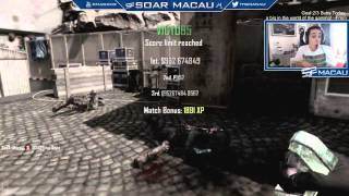 Macau: First Shot in SoaR with Reaction (LiveStream Highlight)