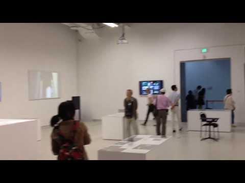 Roy Ascott exhibition, Shanghai Biennale 2012