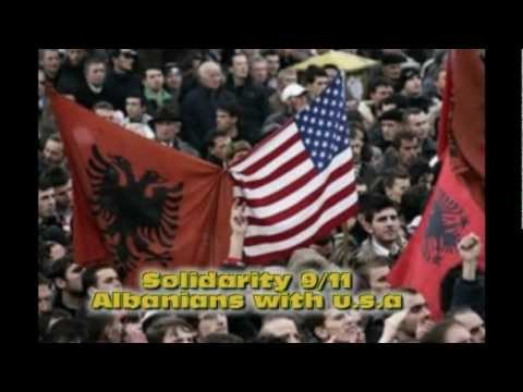 Solidarity 9/11 Kosovo Albania Albanians with the U.S.A