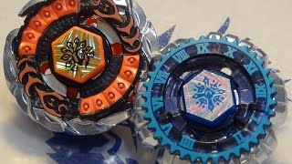 Beyblade BATTLE: Evil Befall UW145EWD vs Counter Tempo 130RS (Befall the Ripper 2-pack)