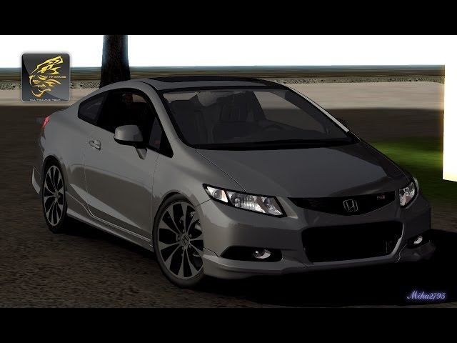 TestDrive - Honda Civic Si Coupe Tuned Physics 2013