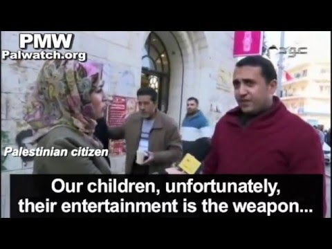 Palestinian citizens oppose children's terrorism and blame TV for inciting