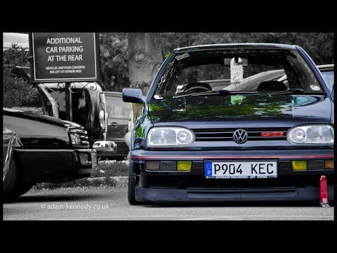 VW Golf Mk3 Tuning Movie US Model