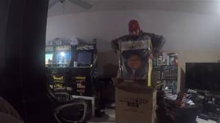 Arcade 1up Party- Cade Unboxing fea Pac-Man, Galaga, and Galaxian Arcade Games