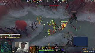 Dota 2 ranked match