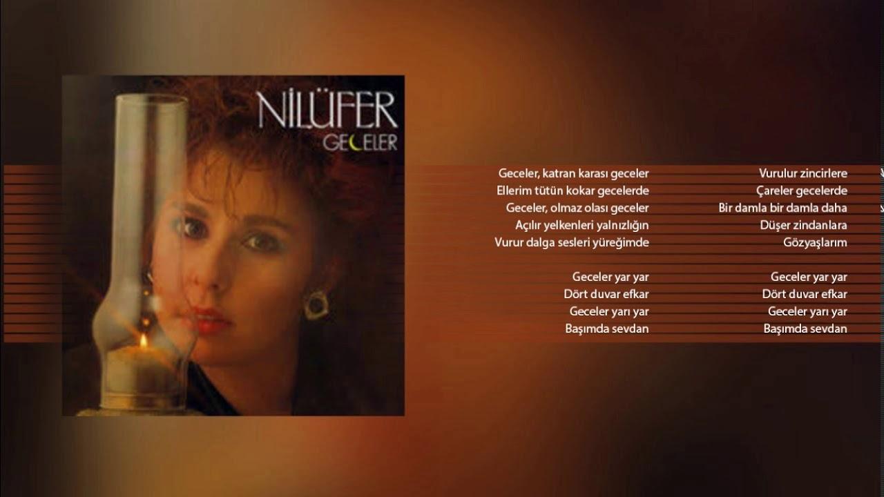Nilüfer - Geceler (Orijinal Karaoke)