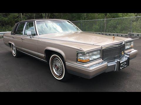 1990 Cadillac Brougham D'Elegance 5.7 Liter Custom Top Royal Seals  Fleetwood Specialty Motor Cars