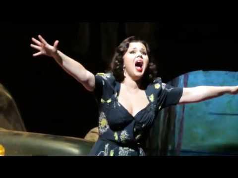 Aleksandra Kurzak | PAGLIACCI  - Rehearsal at The Metropolitan Opera (Jan 2018)