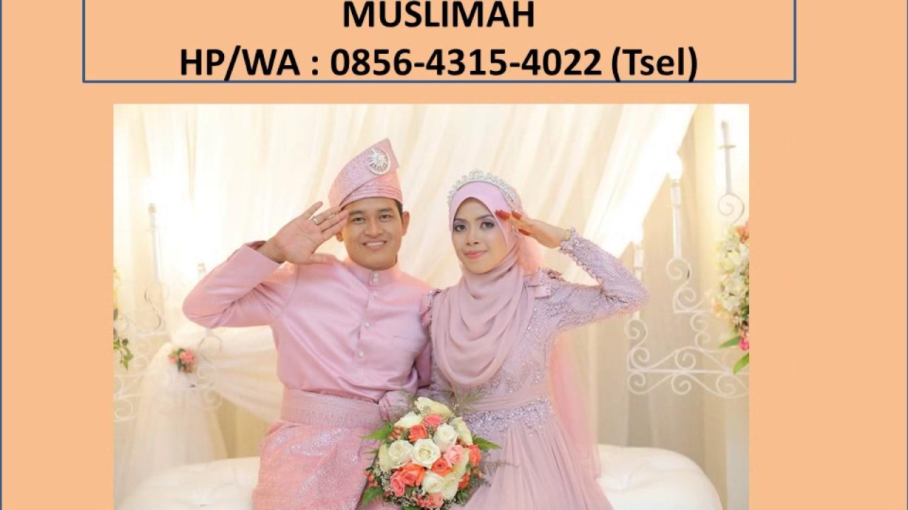 9-9-9(Tsel),sewa baju pengantin muslim di bandung - YouTube