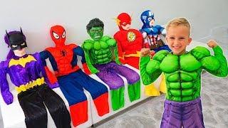 Vlad menjadi pahlawan super dan membantu teman temannya