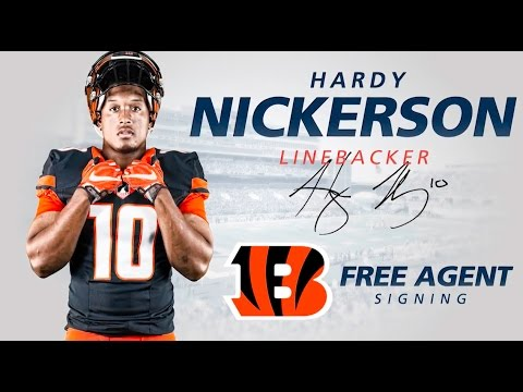 Hardy Nickerson to Cincinnati Bengals   Free Agent Signing