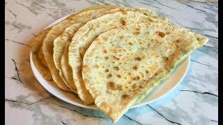 Кутабы с Сыром и Зеленью Быстро и Просто, а Главное Очень Вкусно / Kutaby With Cheese And Herbs