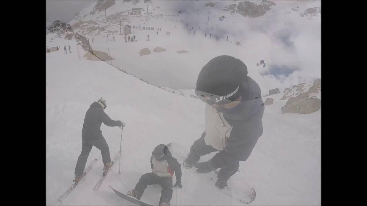 Primer dia de snowboard