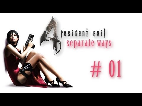 Let's Play RE4: Separate Ways #01 - Adas Mission