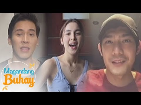 Magandang Buhay: Julia, Robi and Enchong's birthday message for Erich