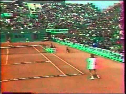 Chris Evert d. Hana Mandlikova - 1986 French Open SF