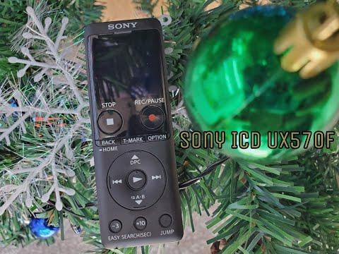 Mở Hộp Máy Ghi Âm Sony UX570F