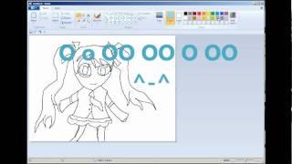 How 2 Draw Hatsune Miku ~【とりぷるばか】~ thnk u (^ ω ^)
