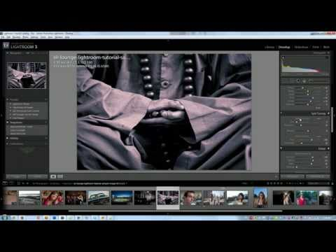 How to Create Split Tone and Duotone Black and White Images in Lightroom - Lightroom Video Tutorial